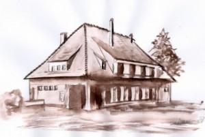ALSACE | SOULTZ SOUS FORETS| SHORT WORKS POCHADE | NATURE |  PEINTUREMEMANLOTUS | CHRISTIANE ALLENBACH |GARE