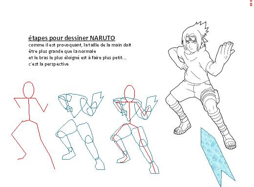 comment dessiner naruto facilement