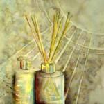 CHRISTIANE ALLENBACH | FLACONS PAILLES 27_5 x 35_7 cm