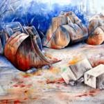 CHRISTIANE ALLENBACH | REPOS HIVERNAL 24_30 DANS PP 30_40 ARCHES SATIN