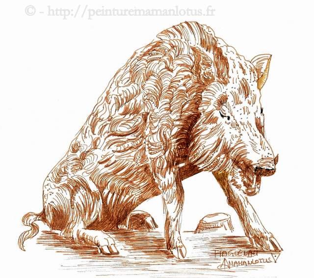 Randocroking 7 comment dessiner un animal christiane - Animal a dessiner ...