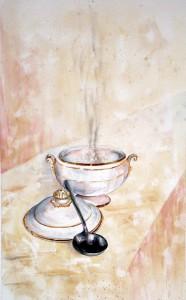 CHRISTIANE ALLENBACH | SOUPIERE | 50 X 30 | 180 € HORS CADRE