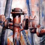 CHRISTIANE ALLENBACH | VESTIGES DE LABEUR 24_30 PP 40 x 50 cm