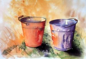 CHRISTIANE ALLENBACH | SEAUX CENTENAIRE 18 x 26 cm