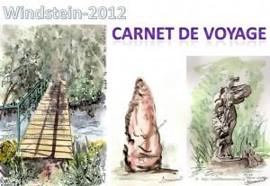 ALSACE | WINDSTEIN 2012 | RENCONTRE TOURISTES ARTISTES | CARNET DE VOYAGE 1