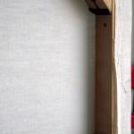 CHRISTIANE ALLENBACH | FIXATION TOILE SUR CADRE