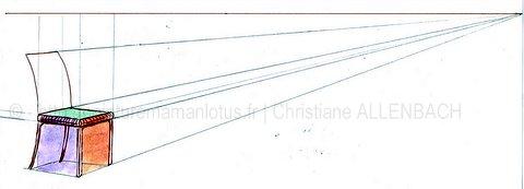 Dessiner un banc christiane allenbach for Comment dessiner une chaise