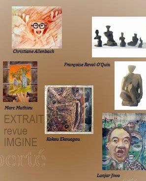 CHRISTIANE ALLENBACH | IMAGINE MON OEUVRE PUBLIEE