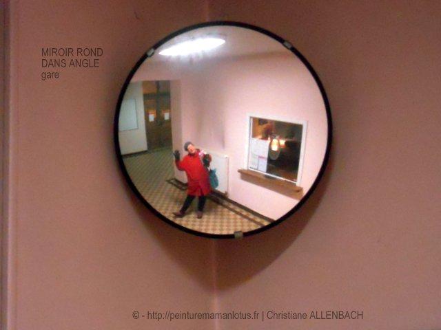 CHRISTIANE ALLENBACH   MOI DANS LE MIROIR MURAL