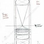 TECHNIQUE | PEINTUREMAMANLOTUS | CHRISTIANE ALLENBACH | CONSTRUCTION TOUR DIAMETRE EGAL DE HAUT EN BAS