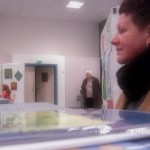 PEINTUREMAMANLOTUS | CHRISTIANE ALLENBACH | REICHART 2013 |  derrière mon stand 2013_03_31