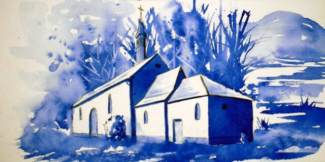 CHRISTIANE ALLENBACH   CHAPELLE VERSION SKETCH