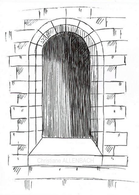 Célèbre Technique dessin | Autour d'une fenêtre… | Christiane ALLENBACH BU39