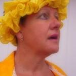 PEINTUREMAMANLOTUS | CHRISTIANE ALLENBACH | CHAUD SOLEIL EN DEPIT DES RAFALES DE VENT