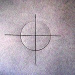 CHRISTIANE ALLENBACH | CERCLE AVEC CENTRE ET DIVISION EN QUATRE