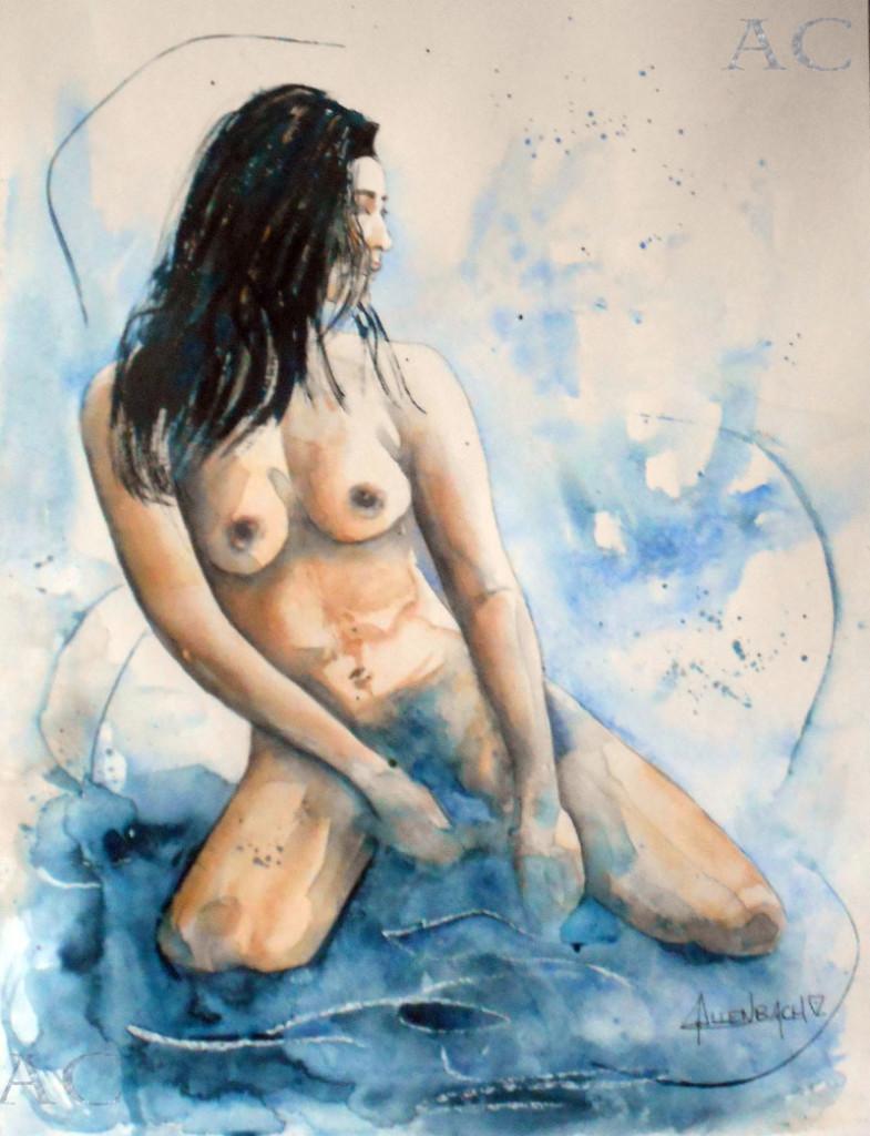 CHRISTIANE ALLENBACH FEMINITE 30 x 40 cm