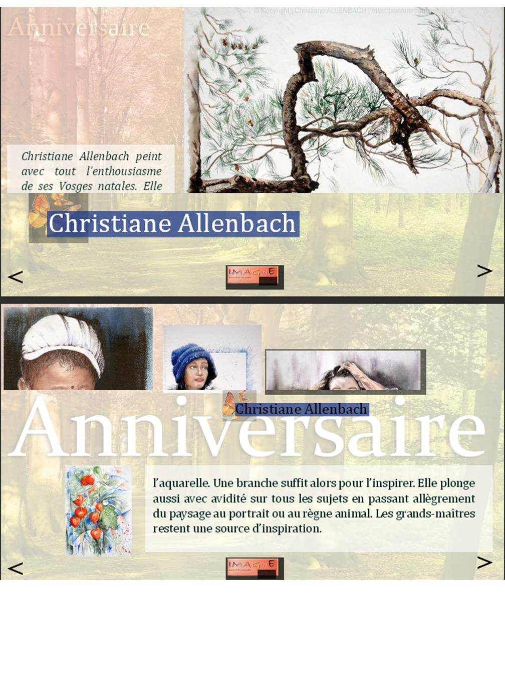 EXTRAIT PUBLICATION IMAGINE 2014 CHRISTIANE ALLENBACH