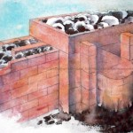 CHRISTIANE ALLENBACH | REMPLISSAGE D UN MUR