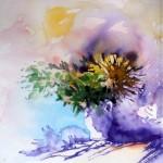 CHRISTIANE ALLENBACH | DP 23 BOUQUET D ORAGE 18 AOUT 2014 20 x 20 cm