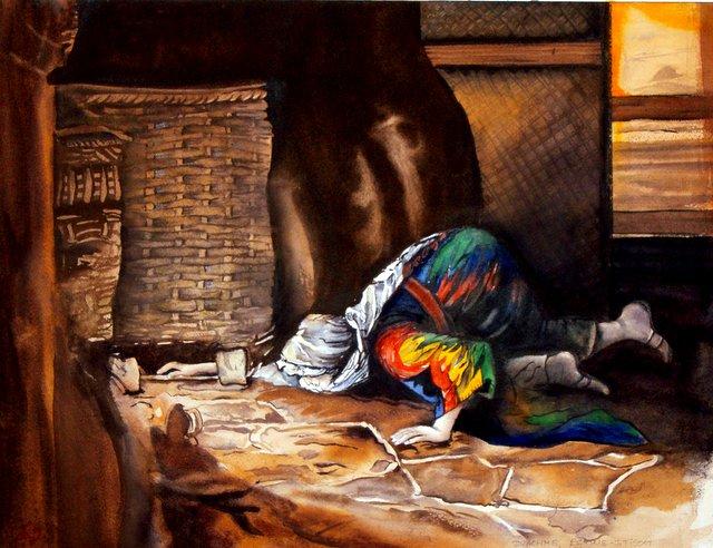 CHRISTIANE ALLENBACH | DRACHME PERDUE TISSOT ARCHES 44 x 34_3