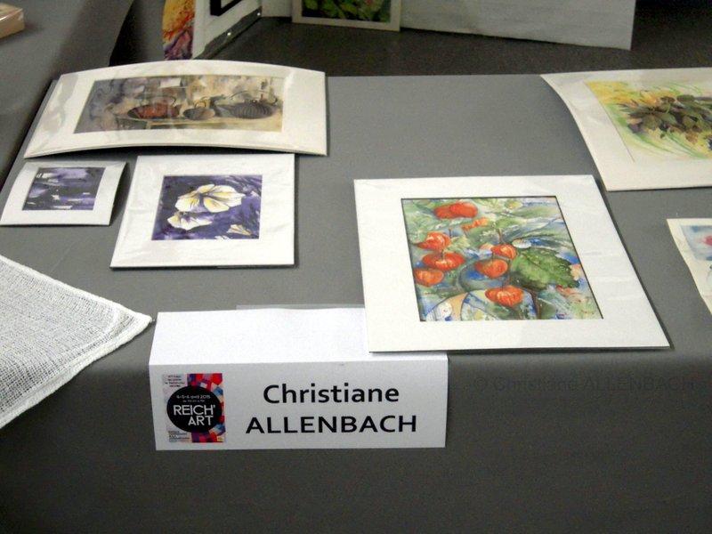 CHRISTIANE ALLENBACH | PARTIE DE MA TABLE