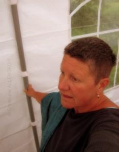 CHRISTIANE ALLENBACH | ARTISTE SOUS TENTE