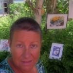 CHRISTIANE ALLENBACH | ARTISTE DEVANT TABLEAUX