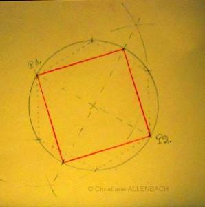 CHRISTIANE ALLENBACH CARRE DANS CERCLE B