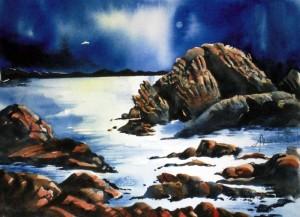 ALLENBACH CHRISTIANE ENTRE SOIR ET MATIN 30 x 40 cm