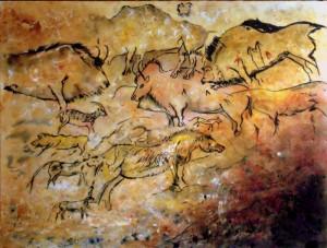 ALLENBACH CHRISTIANE A L AUBE DE NOTRE HISTOIRE 30 x 40 CM