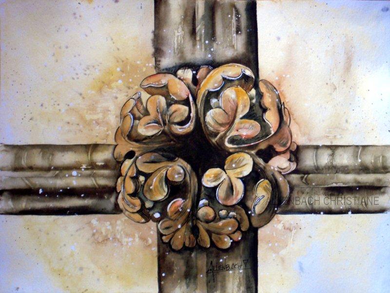 ALLENBACH CHRISTIANE CLE VOUTE SAINT MARTIN CHAMPS PARIS