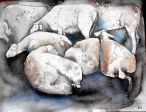 ALLENBACH CHRISTIANE DOUCEUR 30 x 24 cm