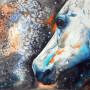 CHRISTIANE ALLENBACH 30 x 40 cm regard vers les Etoiles