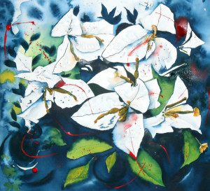 CHRISTIANE ALLENBACH 40 x 40 envie de printemps