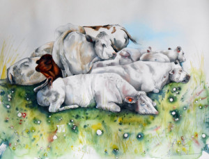 CHRISTIANE ALLENBACH 40 x 50 cm EN TAS