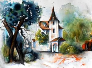 CHRISTIANE ALLENBACH LE CHATEAU OUBLIE