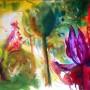 CHRISTIANE ALLENBACH LUMIERES ET OMBRES_de PRINTEMPS 50 x 70 cm