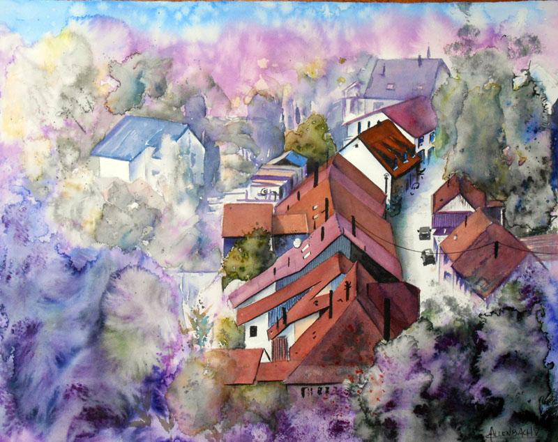 CHRISTIANE ALLENBACH SCHIRMECK 40 x 50 cm