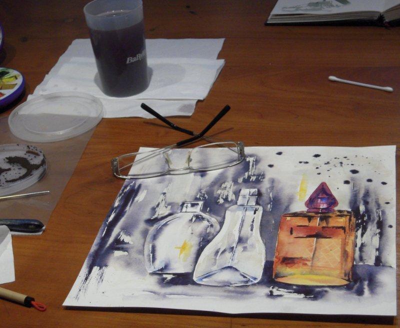 CHRISTIANE ALLENBACH WORK IN PROGRESS