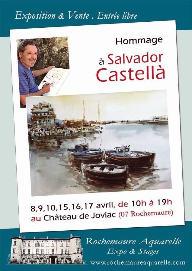 CHRISTIANE ALLENBACH HOMMAGE SALVATOR CASTELLA