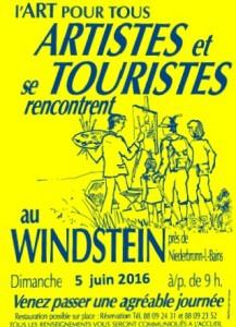 CHRISTIANE ALLENBACH WINDSTEIN 2016 AFFICHE