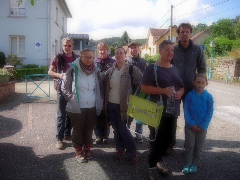 ALLENBACH CHRISTIANE LE GROUPE AU DEPART