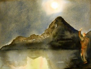 ALLENBACH CHRISTIANE DANSE NOCTURNE 30 x 40 cm