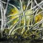 CHRISTIANE ALLENBACH 18 x 24 cm ENCHEVETREMENT FORESTIER
