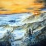 CHRISTIANE ALLENBACH 40 x 50 cm BRUMES DE MONTAGNE