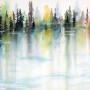CHRISTIANE ALLENBACH CORNWALL 24 x 30 cm les arbres magiques