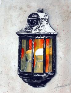 CHRISTIANE ALLENBACH LAMPE EXTERIEURE