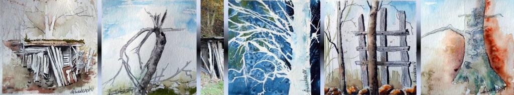 CHRISTIANE ALLENBACH 15 x 15 cm NATURE