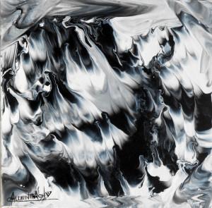CHRISTIANE ALLENBACH ACRYLIQUE 30 x 30 cm VENT