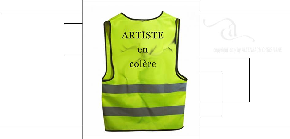 CHRISTIANE ALLENBACH ARTISTE EN COLERE